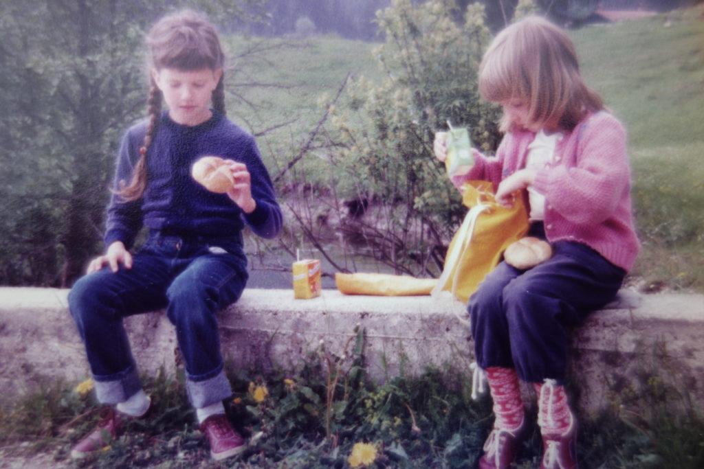 Bettina_Wanderung bei Bad Reichenhall_1982