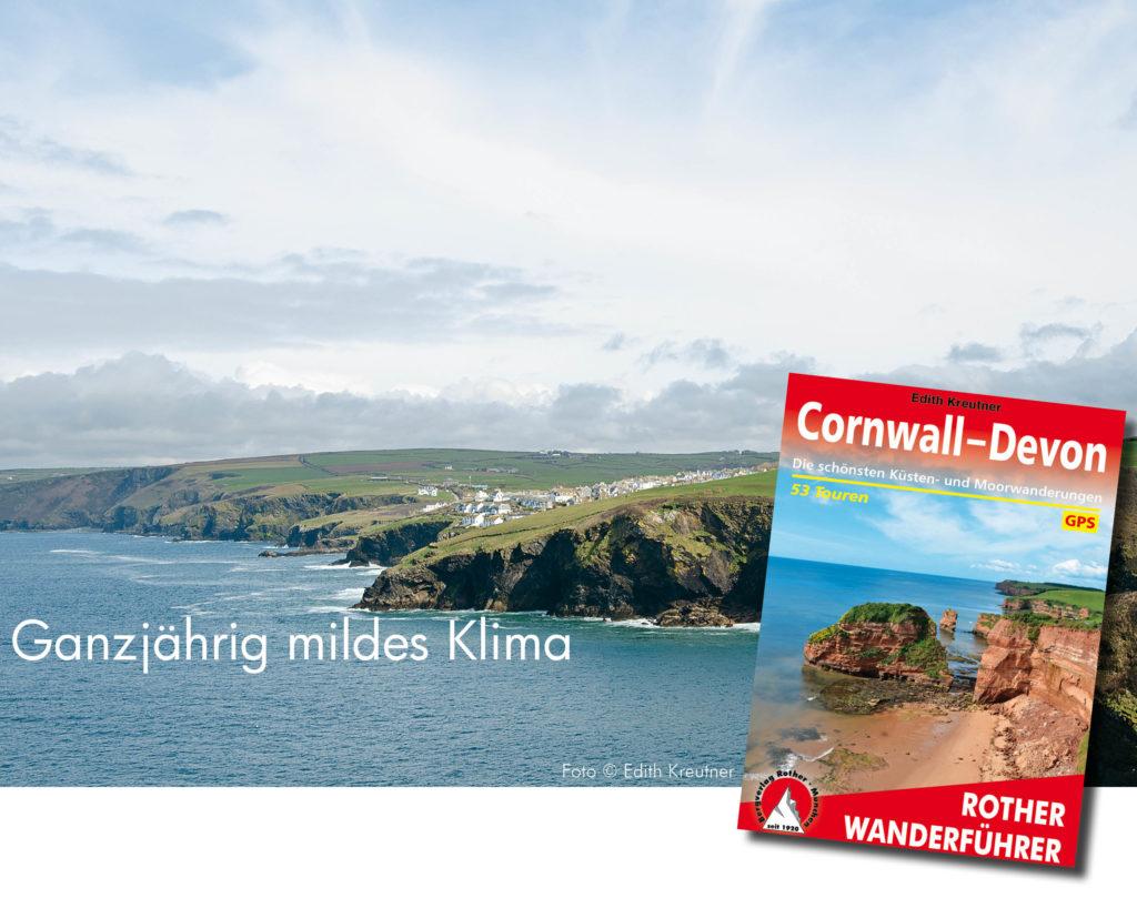 Wanderführer Cornwall Devon