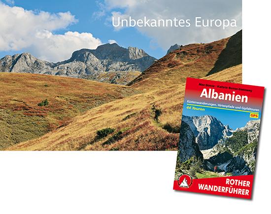 Wandern in Albanien, Buchtipp Wanderführer