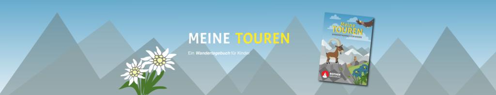 Meine Touren: Wandertagebuch für Kinder @ Carmen Eisendle