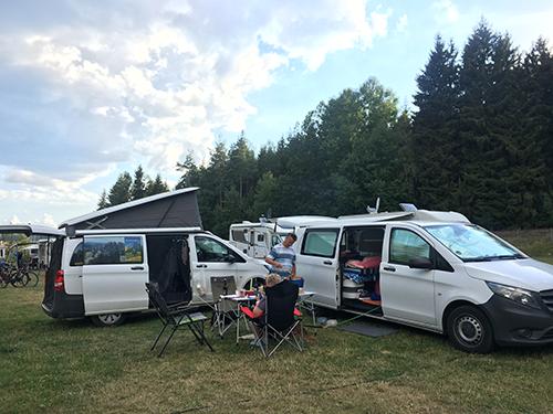 Camping mit Hund @ Franziska Rößner