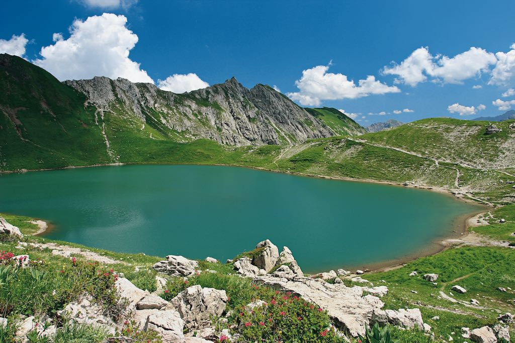 Bergsee im Allgäu @ Gerald Schwabe