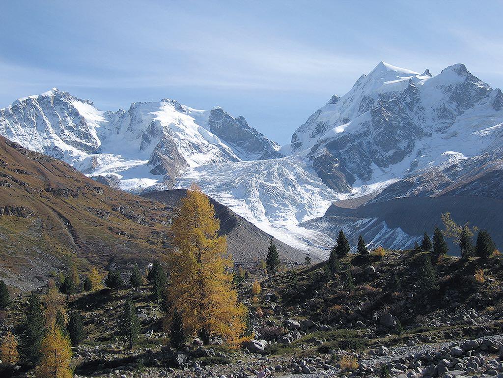 Großartige Gipfel über dem Rosegtal @ Rudolf & Siegrun Weiss, Christian