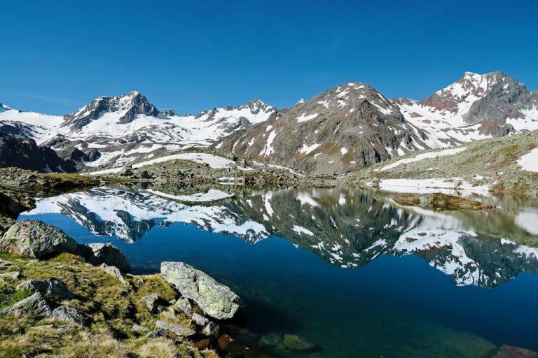 Ende Juni vom Eise befreit: der Mutterbergersee @ Mark Zahel