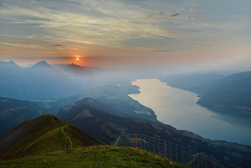 Sonnenuntergang auf dem Morgenberghorn @ Bernd Jung