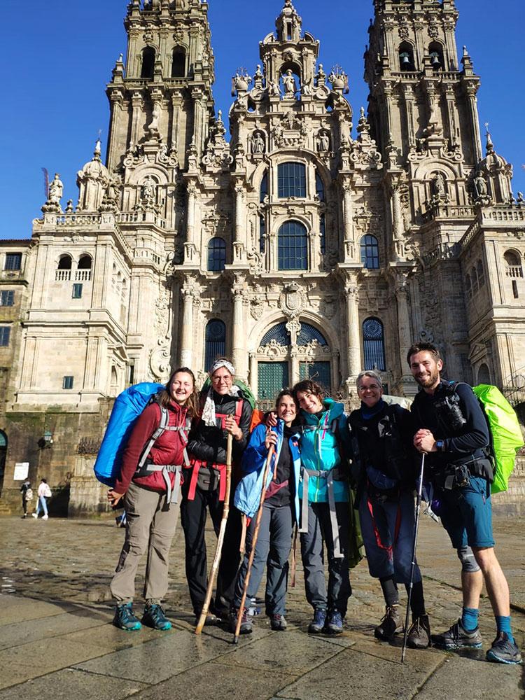 Am Ziel angelangt_Santiago de Compostela ©Foto: Cordula Rabe