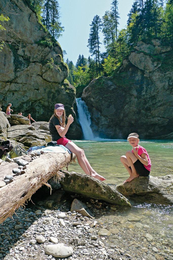 Am großen unteren Wasserfall@Eduard Soeffker