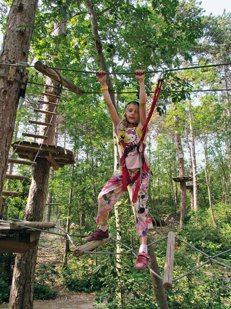 Hochseilgarten Abenteuerpark Bussate©Marcus und Rosemarie Stöckl