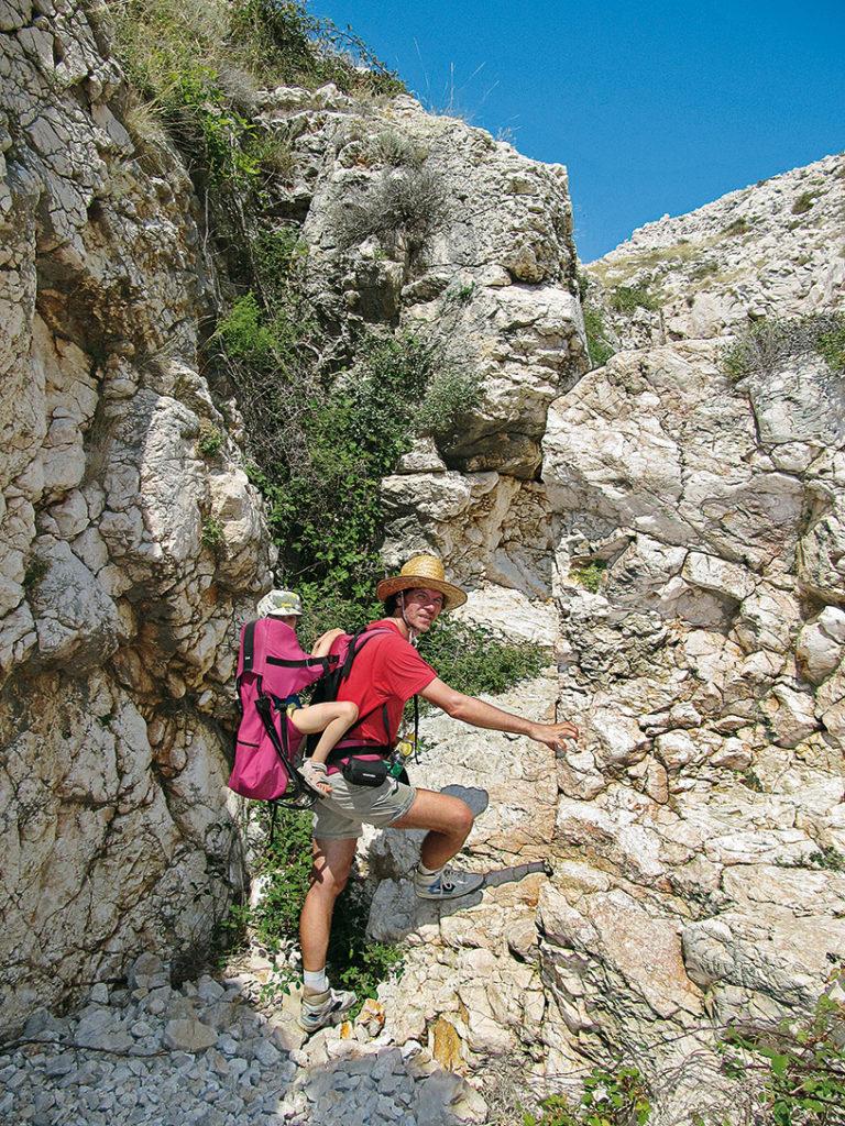 Aufstieg durch den Canyon©Marcus und Rosemarie Stöckl