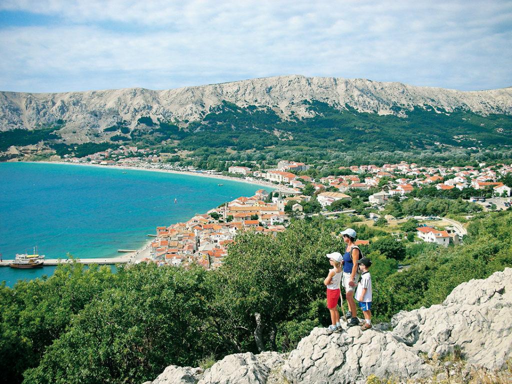 Blick auf die Bucht von Baška©Marcus und Rosemarie Stöckl