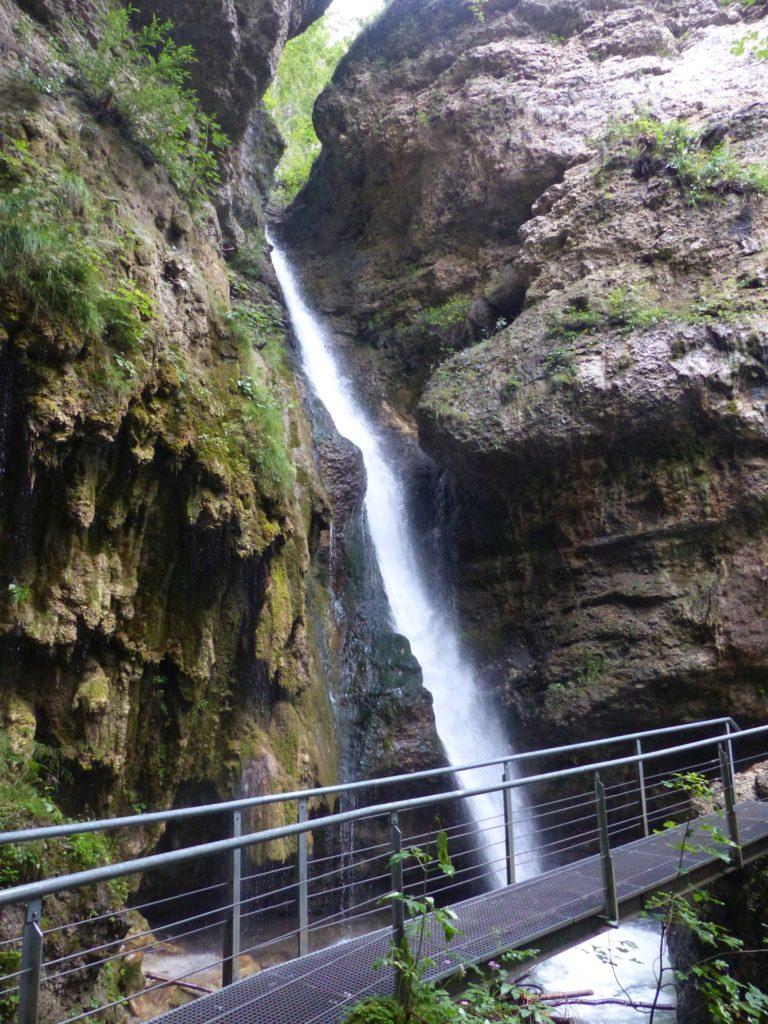 Hinanger Wasserfall, Allgäu ©Foto: Maximilian Kress