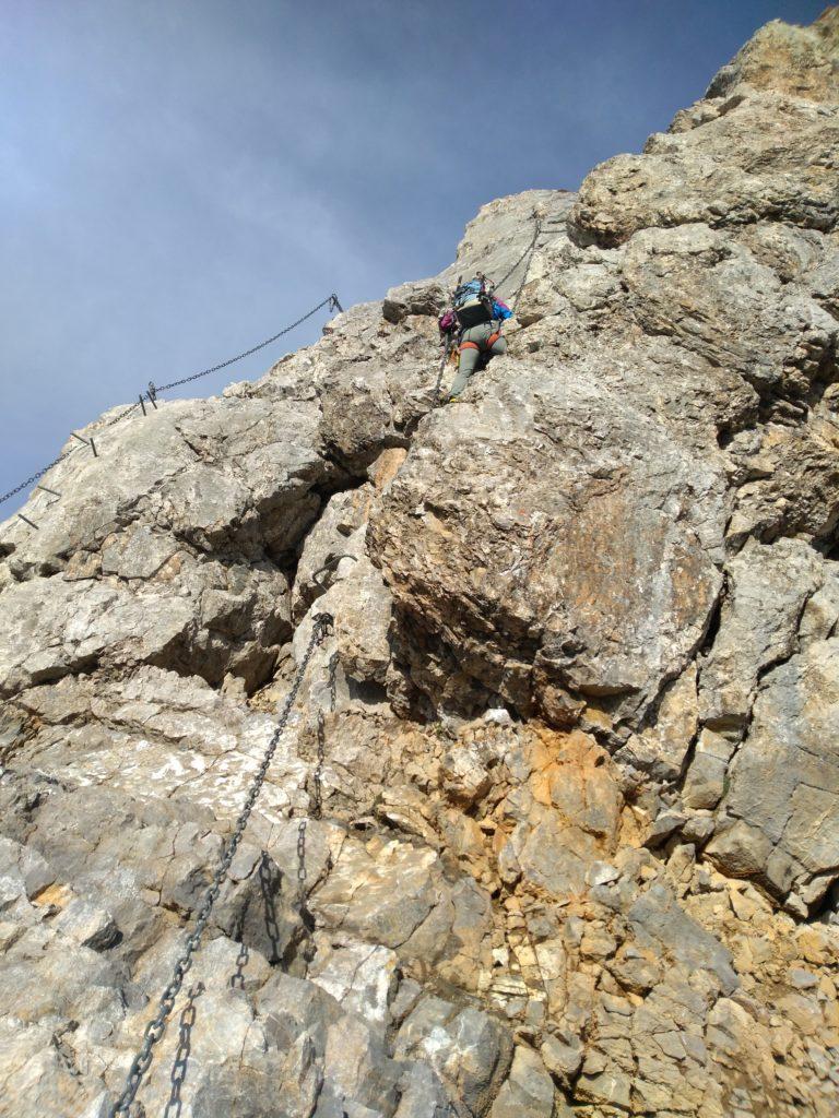 Einbahnregelung an der Klettersteigstelle am Vrenelisgärtli