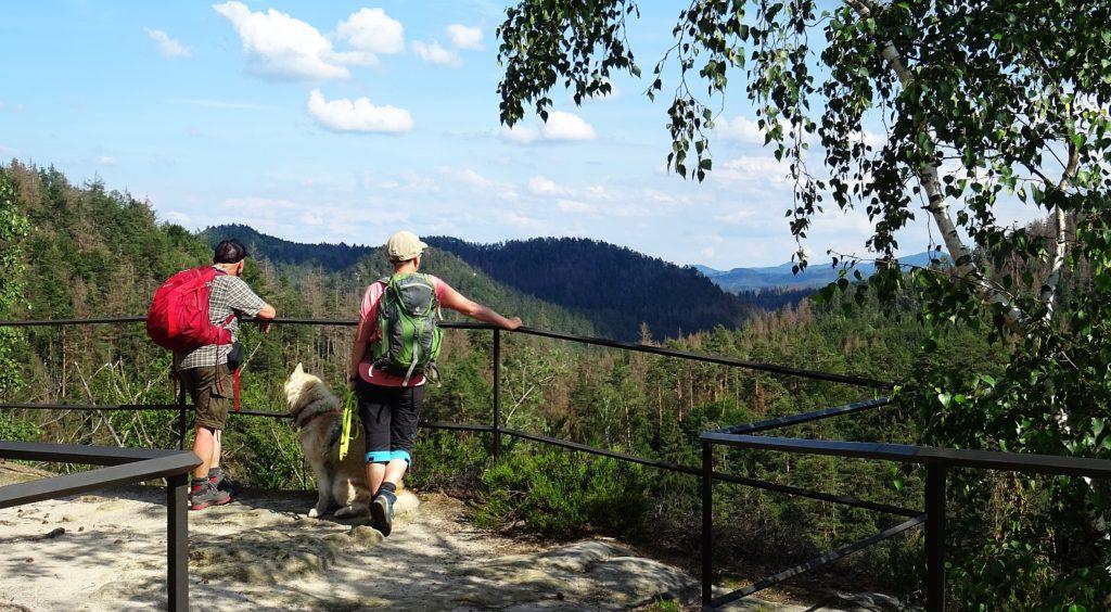 Auf dem Malerweg im Elbsandsteingebirge, Foto: Franziska Rößner