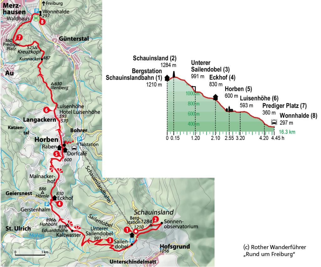 Herbstwanderungen in Deutschland - Schwarzwald Schauinsland