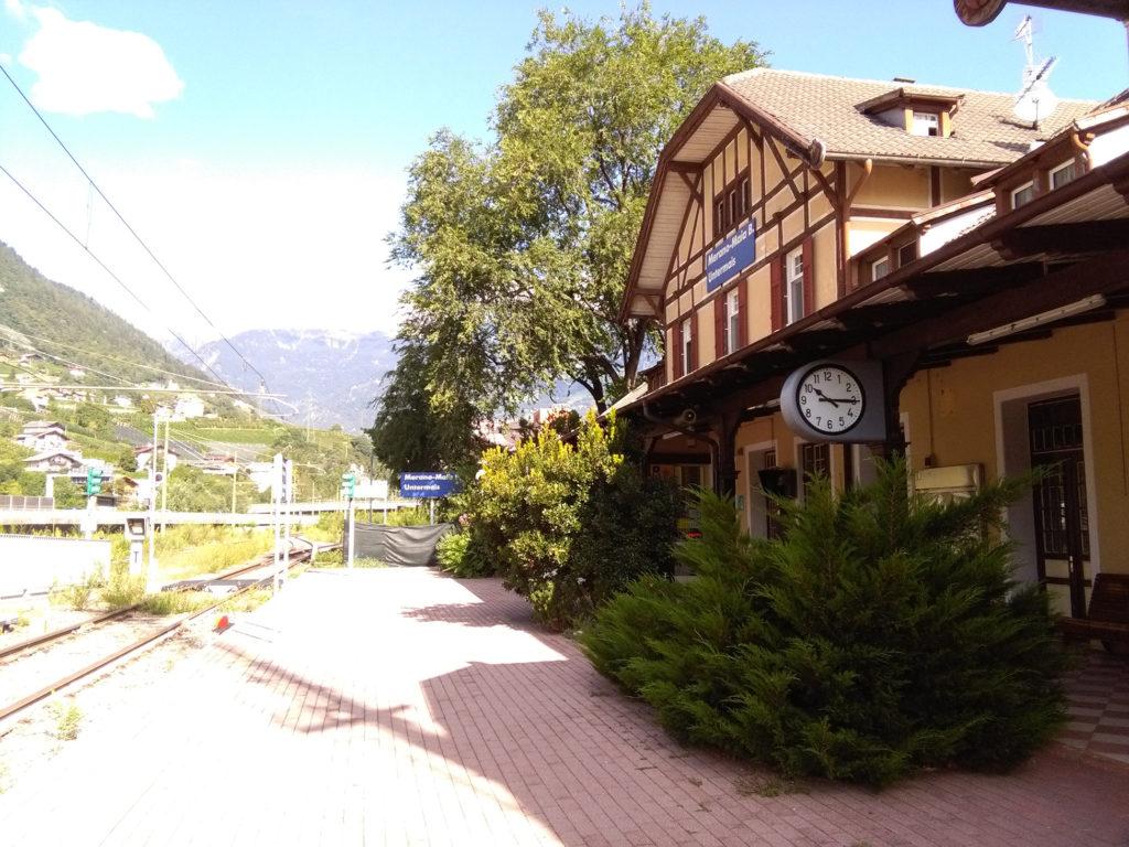 Bahnhof Meran Untermais (c) Gesine